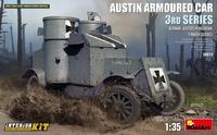 Austin Armored Car German, Finnish Service,  Interior kit  1/35