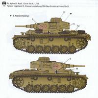 "PzKpfw III Ausf.J ""North Afrika""  1/35"