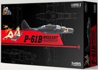 Northrop P-61B Black Widow Noseart  1/48