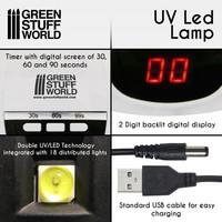 Ultraviolet Led Lamp 54W 18 Leds