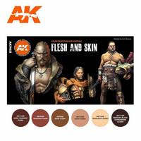 Flesh and Skin Paint Set