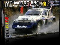 MG Metro 6R4 1986 Lombard RAC Rallye  1/24