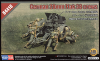 German Crew for 2cm FlaK 38    1/35