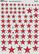Soviet Stars, National Insignia WWII Assorted Sizes  1/48