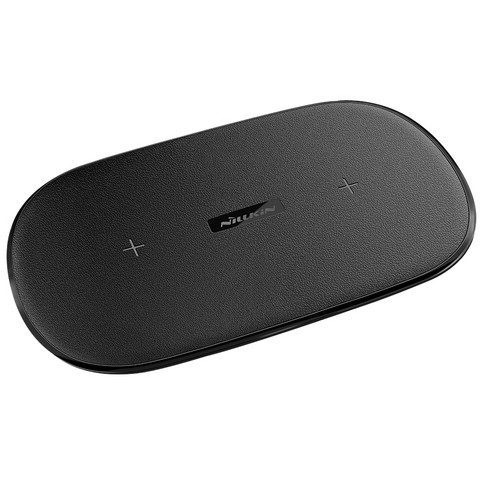 Nillkin Gemini Dual Wireless Fast Charger 10W - Black