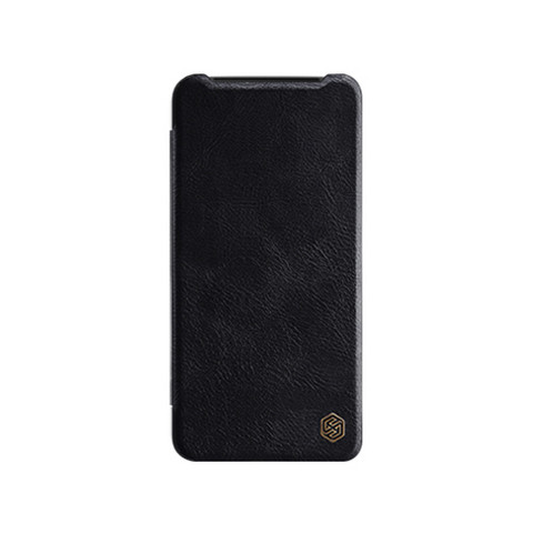 Qin Leather Flipcase Black, One Plus 7