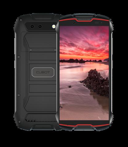 Cubot KINGKONG MINI 3Gb/32Gb Android-älypuhelin - Pun/Musta
