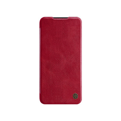 Qin Leather Flipcase, Mi A3 - Red