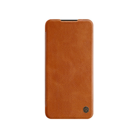 Qin Leather Flipcase, Mi A3 - Brown