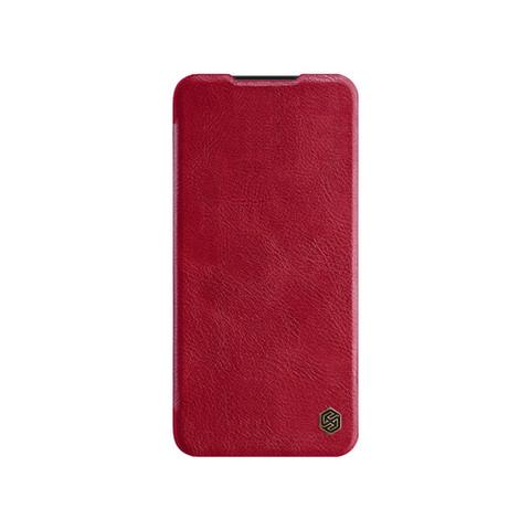 Qin Leather Flipcase Black, Mi 9 - Red