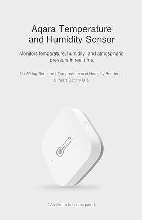 Xiaomi Aqara Temperature, Humidity & Pressure Sensor