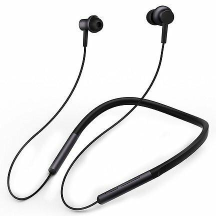 Mi Bluetooth Neckband Nappikuulokkeet - Musta