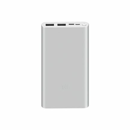 10000 mAh Mi 18W Fast Charge Power Bank 3 Silver