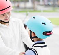 Xiaomi Smart4u City Riding Smart -pyöräilykypärä takavalolla - sininen (Koko M)