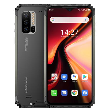 Ulefone Armor 7 / 8GB+128GB / IP68 -Android -älypuhelin, Musta