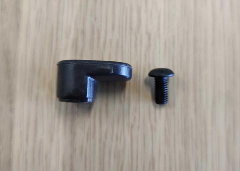 Ohjaustangon kiinnityskoukku takalokasuojaan - Xiaomi Mi -sähköpotkulautoihin