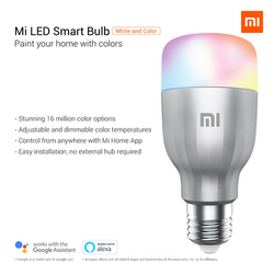 Xiaomi Mi Smart Led Bulb (white & color)