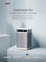 Xgimi MoGo PRO 1080P Android TV Projector
