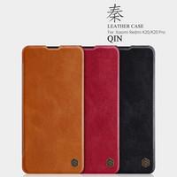 Nillkin Qin Leather Flipcase, Xiaomi Mi9T / Mi 9T Pro - Black