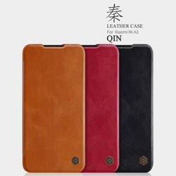 Nillkin Qin Leather Flipcase, Xiaomi A3 - Black