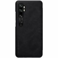 Nillkin Qin Leather Flipcase, Xiaomi Mi Note 10 / 10 Pro - Black