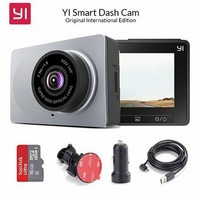 Yi Smart Dash Camera + SD card