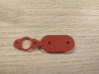 Latausportin suoja M365 / M365 Pro -sähköpotkulaudalle - Punainen