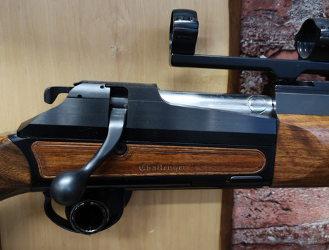 Chapuis Challanger30-06ja 9.3 x 62 vaihtopiippuinen kivääri