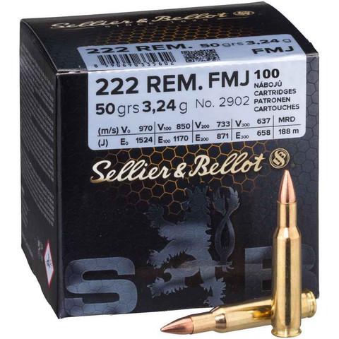 Seller & Bellot 222 rem 3.24 g ( FMJ)