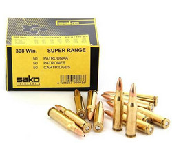 SAKO 308 win. Super Range 6,6g