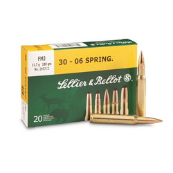 Sellier & Bellot  30-06 FMJ 8,0g