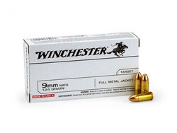 9MM WINCHESTER FMJ 124 GR
