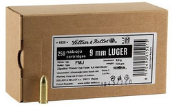 9mm SELLIER & BELLOT BULK 250 kpl