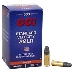 CCI 22 LR standart 40 gr Target