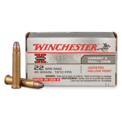 Winchester X Super 22 Lr 40 grain ( 1150 fps )