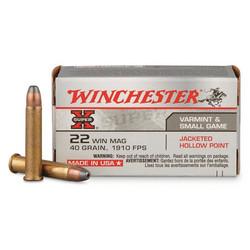 Winchester X Super 22 Lr 40 grain ( 1150 fps )