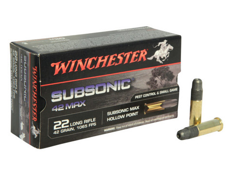 Winchester 22 Lr Subsonic  42gr