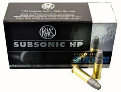 RWS  Subsonic HP 40gr  22 Lr