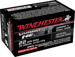 Winchester Varmint 22 WRM FMJ