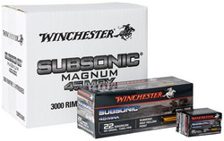 Winchester SUBSONIC 22 WMR