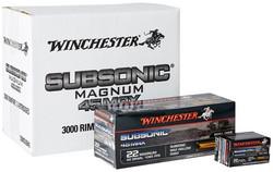Winchester SUBSONIC 22 WMR