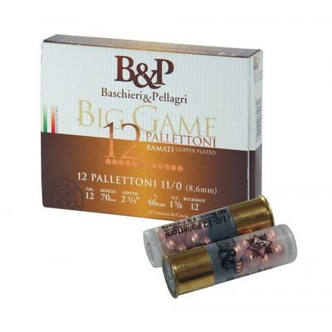 B&P Big Game Palletoni 12/67 BuckShot