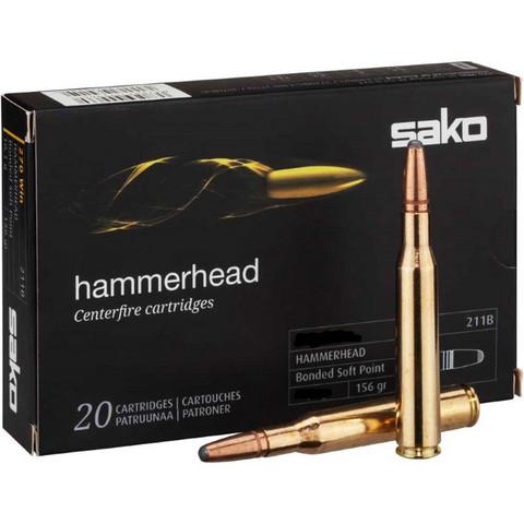 Sako 7,62 x 53R Hammerhead 11,7g Bonded SP