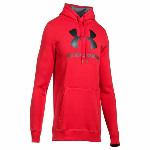 M Under Armour Rival logo hoodie