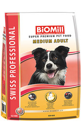 Swiss Professional BiOMill MEDIUM ADULT KANA 3kg