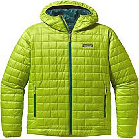 M Nano Puff Hoodie väri Peppergrass Green XS