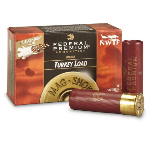 Federal Turkey Load  Magnum 12/76  ( no.4 )