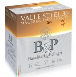 B&P Valle Steel Magnum 36g  12/76. haulikoko 2