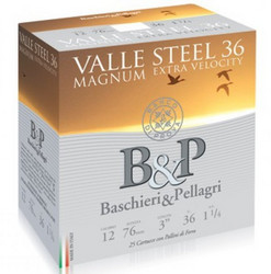 B&P Valle Steel Magnum 36g  12/76. haulikoko 3