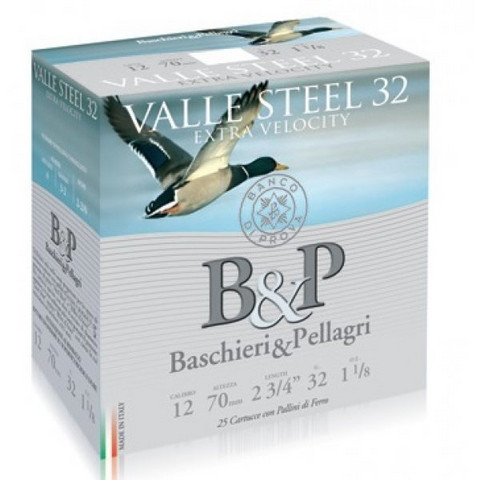 B&P Valle Steel 32g  12/70  no:3